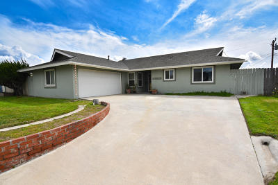 Camarillo Single Family Home Active Under Contract: 628 Leonard Street