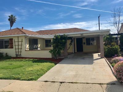 Fillmore Single Family Home Active Under Contract: 256 McNab Court