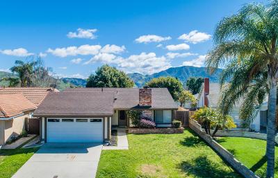 Camarillo Single Family Home Active Under Contract: 5608 Cherry Ridge Drive
