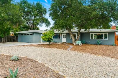 Ojai Single Family Home For Sale: 150 S Arnaz Street