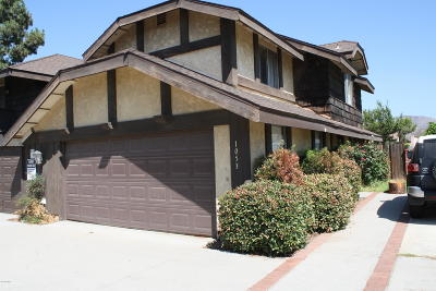 Fillmore Condo/Townhouse For Sale: 1053 Tudor Lane