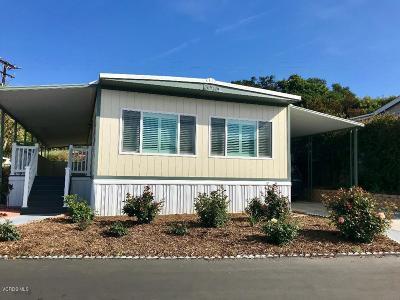 Ojai Mobile Home For Sale: 1202 Loma Drive #17
