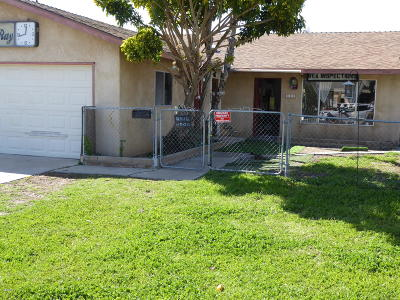 Ventura Single Family Home For Sale: 127 S Seaward Avenue