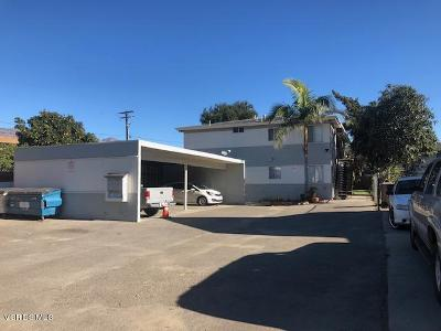 Santa Paula Multi Family Home For Sale: 225 7th Street