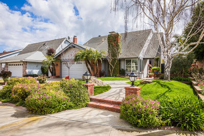 Camarillo Single Family Home For Sale: 5106 Mesquite Street