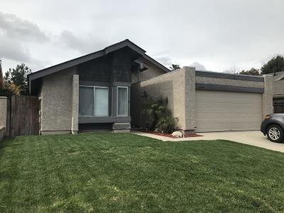 Camarillo Single Family Home For Sale: 6259 Calle Bodega