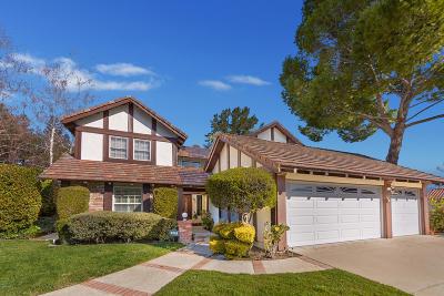 Westlake Village CA Single Family Home For Sale: $1,059,000