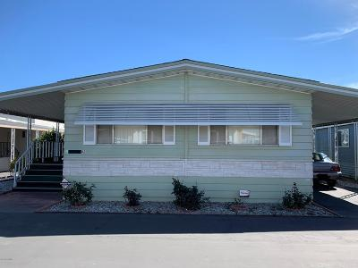 Oxnard Mobile Home Active Under Contract: 1300 E Pleasant Valley Road #82