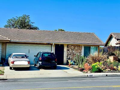 Ventura Single Family Home Active Under Contract: 1527 S Petit Avenue