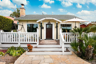 Ventura Single Family Home Active Under Contract: 364 Fairview Drive
