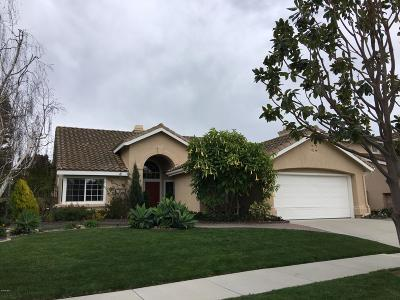 Oxnard Single Family Home For Sale: 2350 Crystal Downs Court