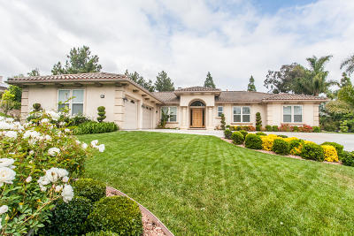 Camarillo Single Family Home For Sale: 1790 Corte Jubilo