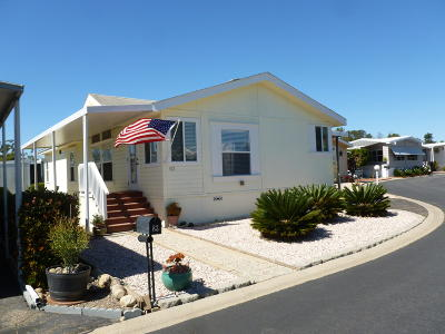 Ventura Mobile Home Active Under Contract: 83 Copland Circle