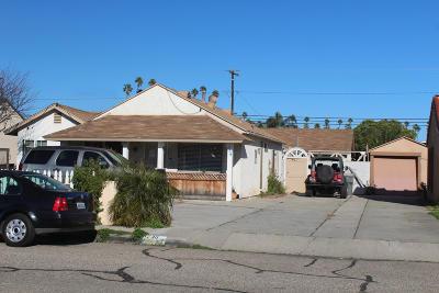Oxnard Single Family Home For Sale: 736 S F Street