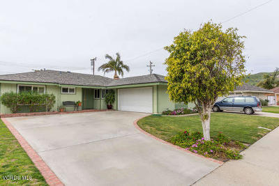 Santa Paula Single Family Home Active Under Contract: 140 Peck Place