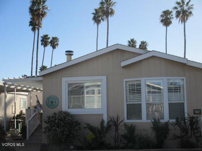 Ventura Mobile Home Active Under Contract: 1215 Anchors Way Drive #26