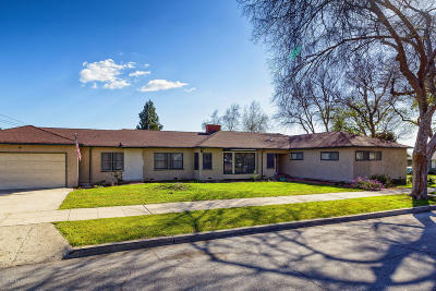 Fillmore Single Family Home For Sale: 360 3rd Street