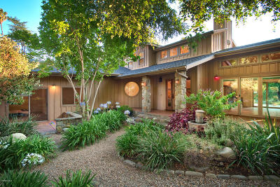 Ojai Single Family Home For Sale: 507 Gridley Road