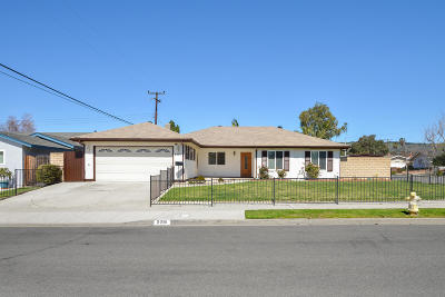 Camarillo Single Family Home For Sale: 2291 Farnworth Street