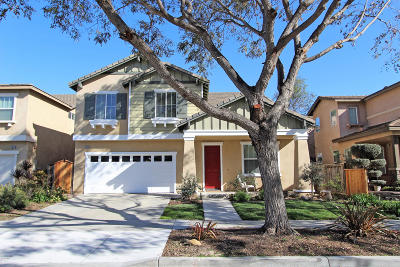 Oxnard Single Family Home For Sale: 1423 Vida Drive