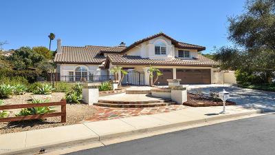 Thousand Oaks CA Single Family Home For Sale: $1,450,000