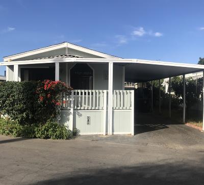 Santa Paula  Mobile Home Active Under Contract: 61 Easy Street #61