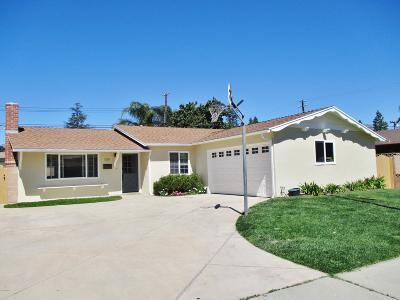 Santa Paula Single Family Home For Sale: 125 Mupu Street