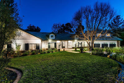 Westlake Village Single Family Home Active Under Contract: 1498 Outlook Circle