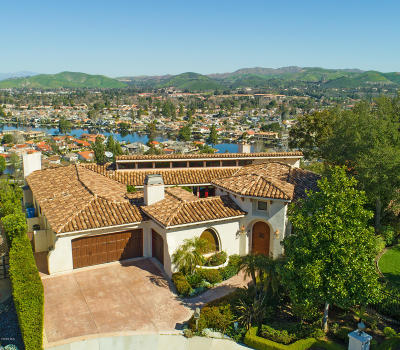 Westlake Village CA Single Family Home For Sale: $2,099,000