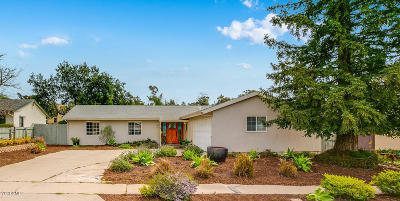 Ojai Single Family Home Active Under Contract: 330 S Carrillo Road