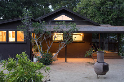 Ojai Single Family Home Active Under Contract: 153 S Padre Juan Avenue