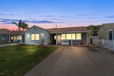 Ventura County Single Family Home For Sale: 1230 S Street
