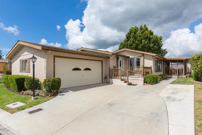 Santa Paula Single Family Home Active Under Contract: 975 W Telegraph Road #100