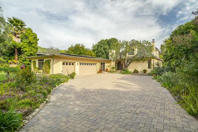 Thousand Oaks Single Family Home For Sale: 1428 El Monte Drive