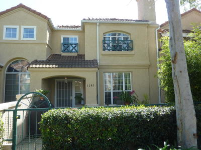 Ventura County Condo/Townhouse For Sale: 1243 Lost Point Lane