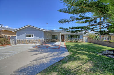 Ventura Single Family Home For Sale: 326 Banner Avenue