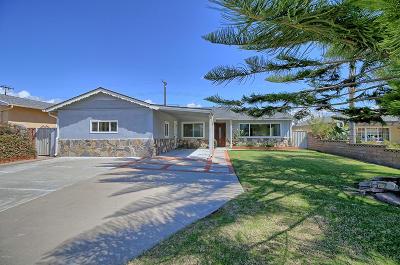 Ventura CA Single Family Home For Sale: $559,000
