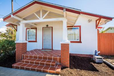Ventura CA Single Family Home For Sale: $469,000