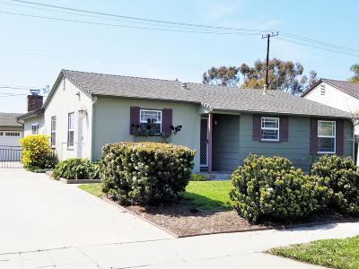 Ventura CA Single Family Home For Sale: $599,000