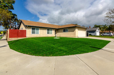 Ventura CA Single Family Home For Sale: $540,000