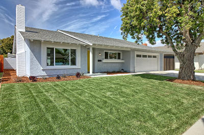 Oxnard Single Family Home For Sale: 1811 Sophia Drive