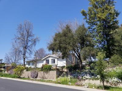 Ojai Single Family Home For Sale: 434 S Carrillo Road