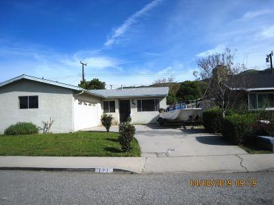 Ventura County Single Family Home Active Under Contract: 171 Lora Lane