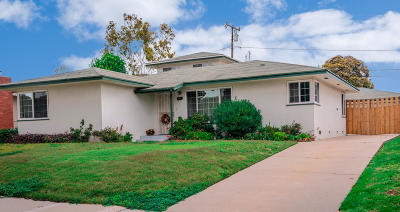 Ventura Single Family Home For Sale: 250 Palomares Avenue