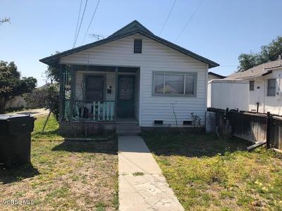 Santa Paula Multi Family Home For Sale: 342 Ojai Road