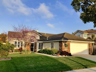 Oxnard Single Family Home For Sale: 2341 Crystal Downs Court