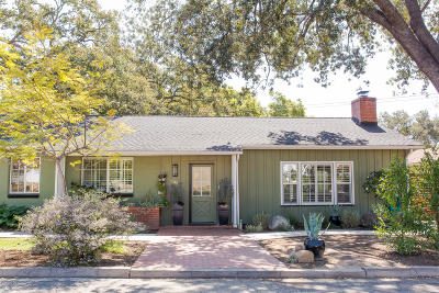 Santa Paula Single Family Home Active Under Contract: 1140 Greenwood Drive