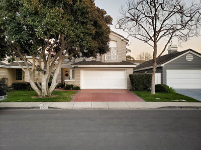 Port Hueneme Single Family Home Active Under Contract: 2526 Seashore Court
