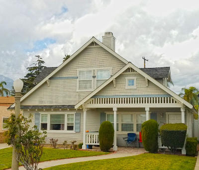 Fillmore Single Family Home For Sale: 533 Kensington Drive
