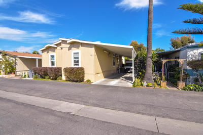 Oxnard Mobile Home For Sale: 1853 Ives Avenue #23